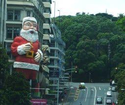 Auckland Santa
