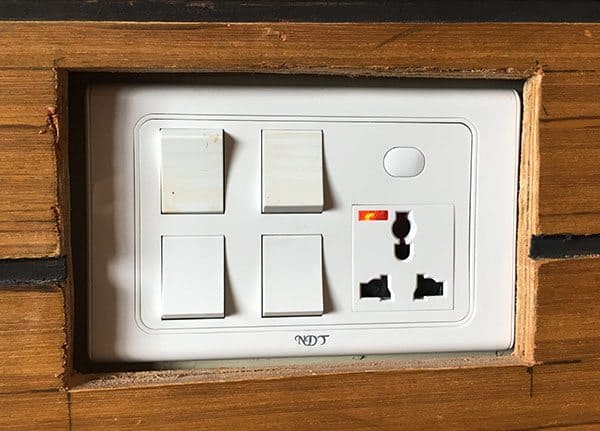 Nepal power socket