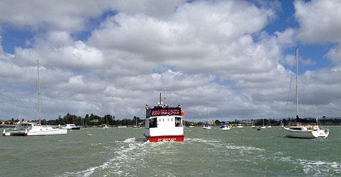 Riverhead Red Boat