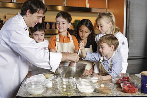Holland America kids cooking