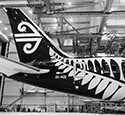 Air NZ at Boeing