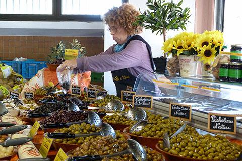 Produce market Noumea