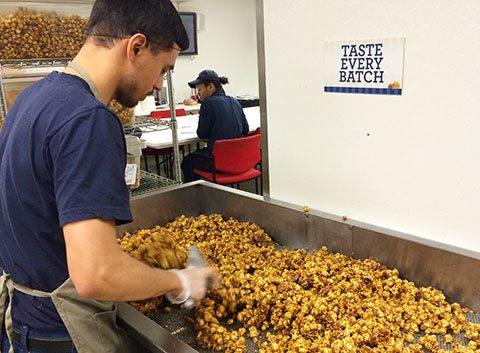Garrett popcorn kitchen Chicago