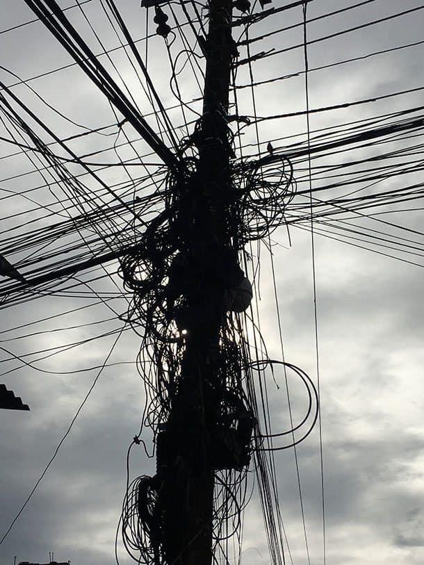 Pokhara powerlines