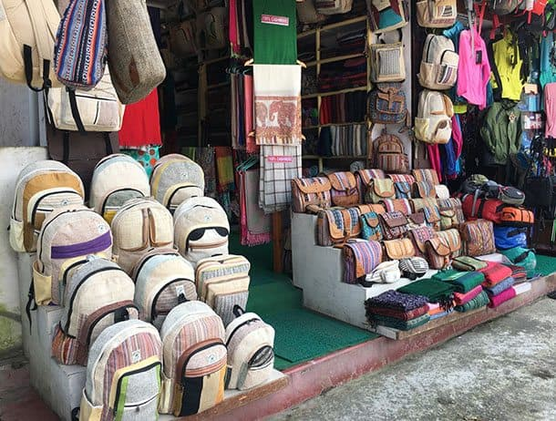 Shopping in Pokhara