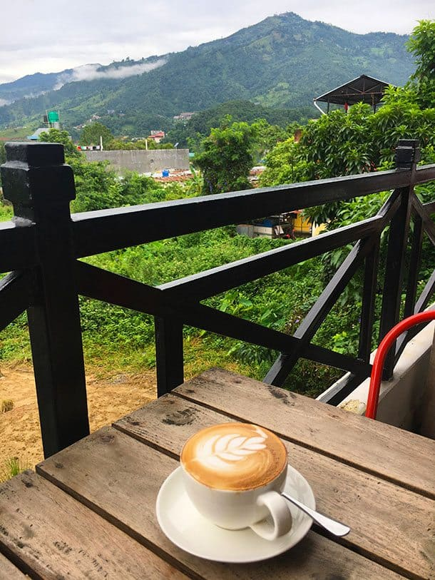 Pokhara coffee