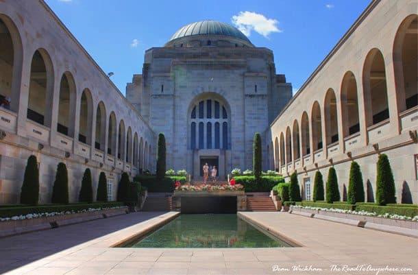 Canberra war memorial