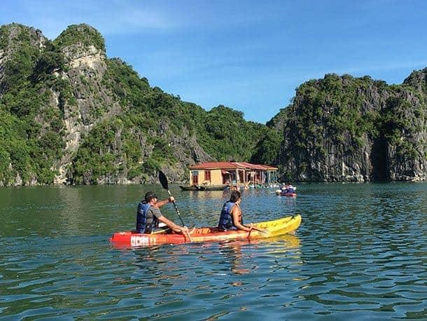 Ha Long Bay fishing village Vietnam
