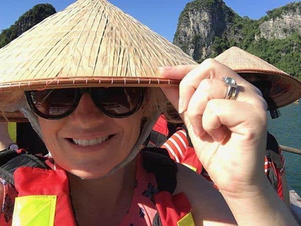 Megan in Vietnam