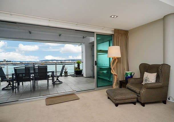 Auckland private apartment Princes Wharf