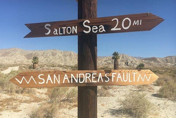 San Andreas fault