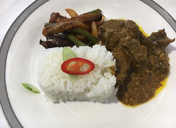 Book the book rendang