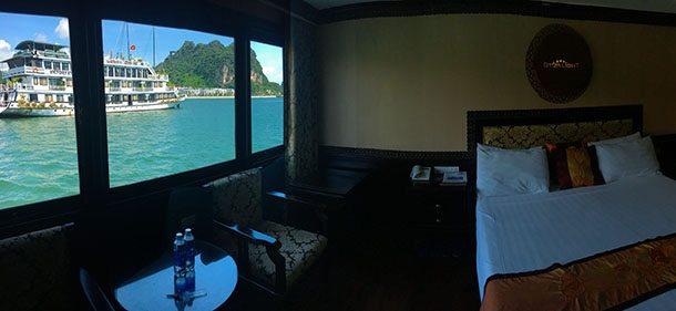 My ha long bay cruise cabin