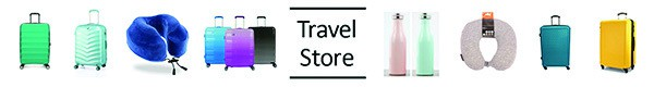 Travel luggage store