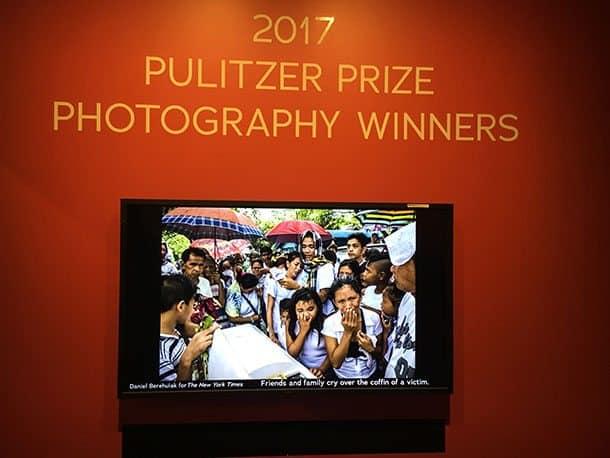 Newseum Pulitzer room