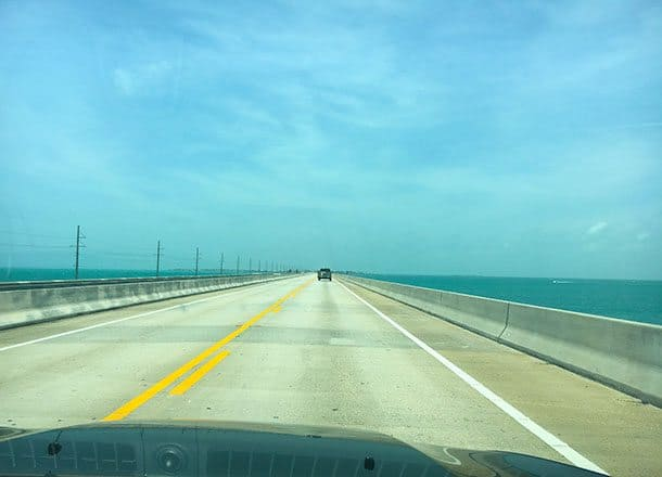 7 Mile Bridge to Key West