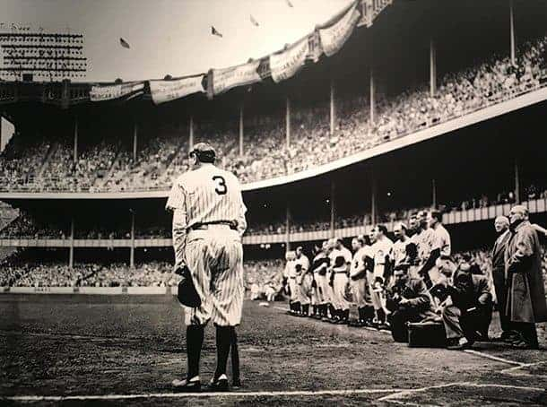 Babe ruth pulitzer winning photo