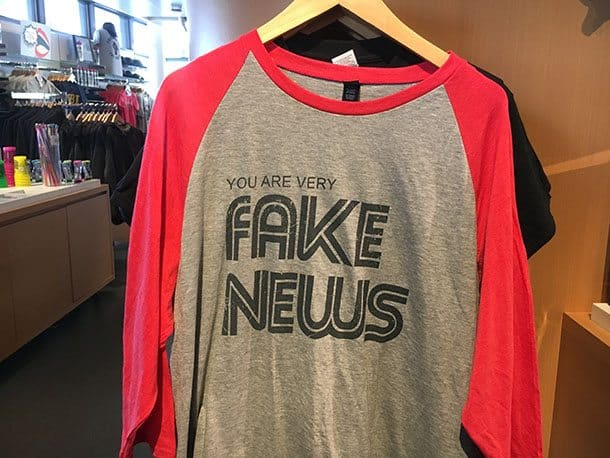 Fake news T shirt