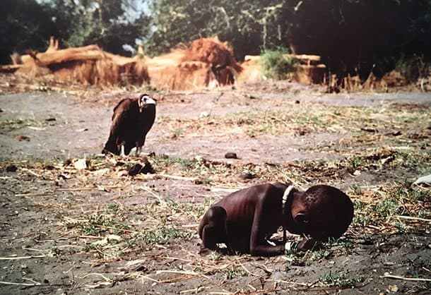 starving child photo