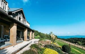 Luxury accomodation view Waiheke