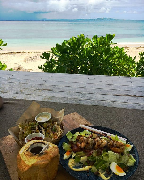 Lunch on Malamala Island