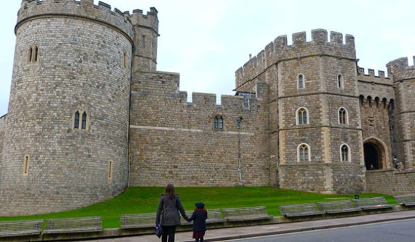 Visiting Windsor castle