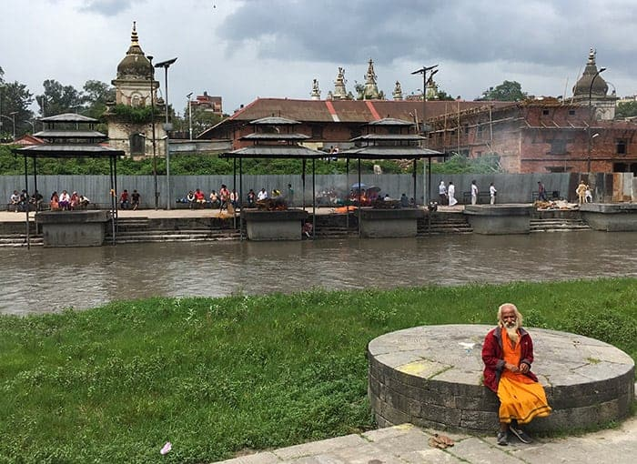 Pashupatinath cremations