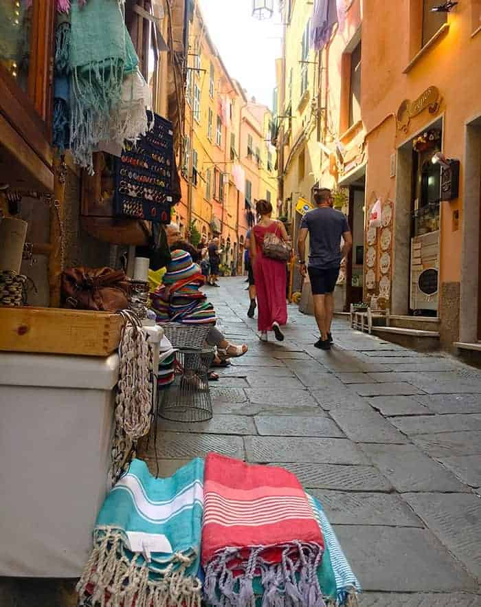 Shopping in Porto Venere