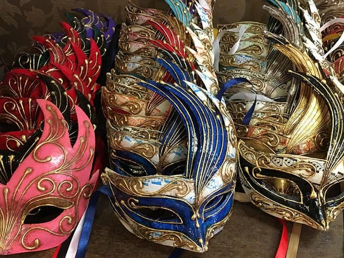 hand made masks venice