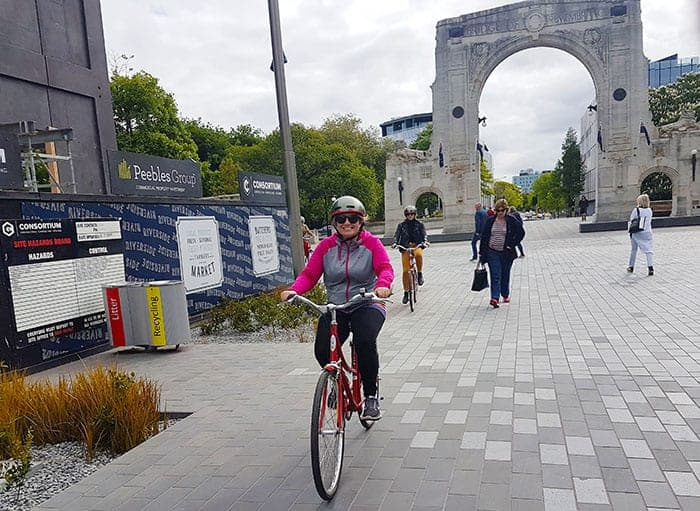 Cycle tour Christchurch