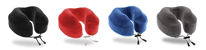 best selling Cabeau pillow in 4 colours