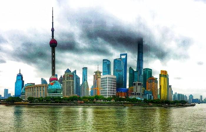 Shanghai river