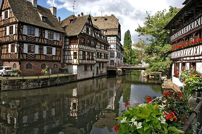 Strasbourg France river