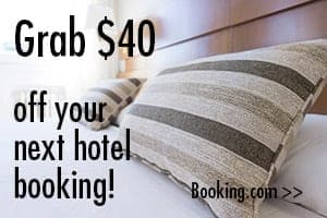 Save $40 on your next hotel booking! - Blogger at Large