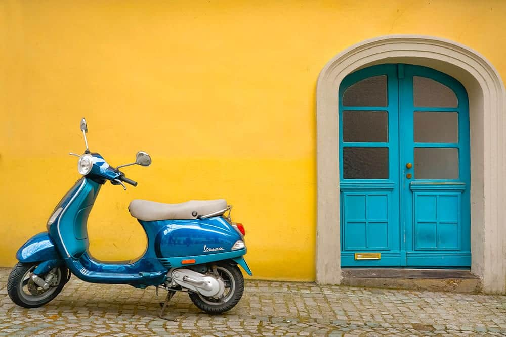 Scooter and travel insurance cover