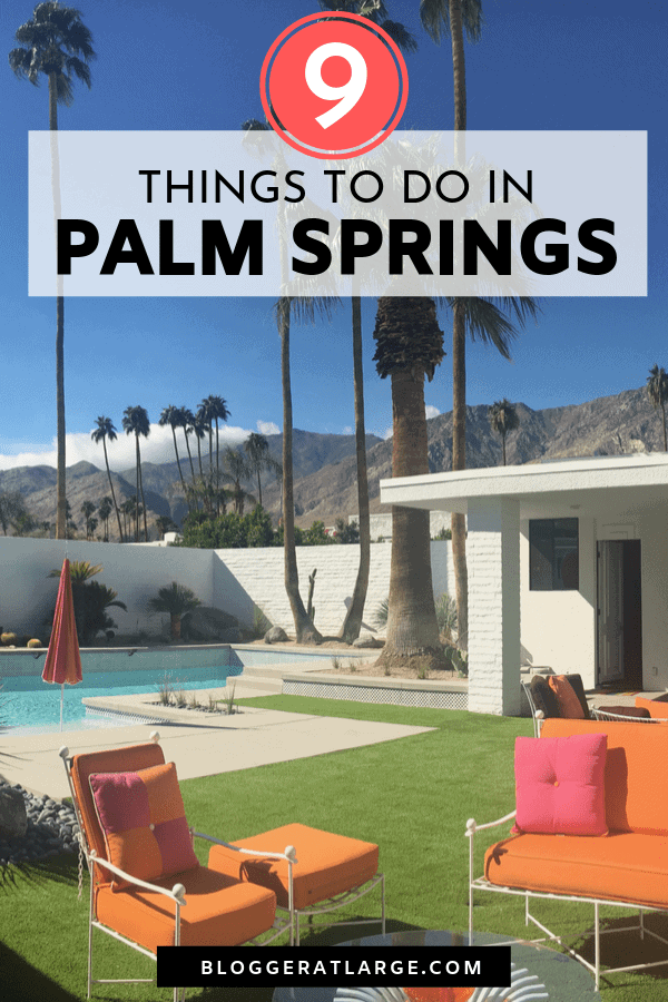 Palm Springs mid century modern architecture
