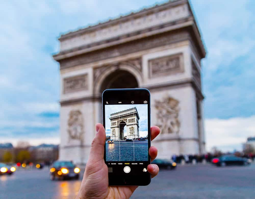 Edit your photo library on a flight