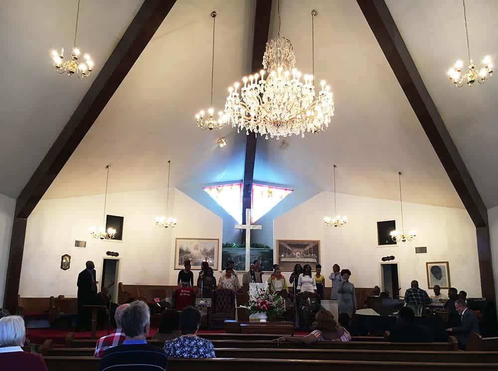 Al Green's gospel church Memphis