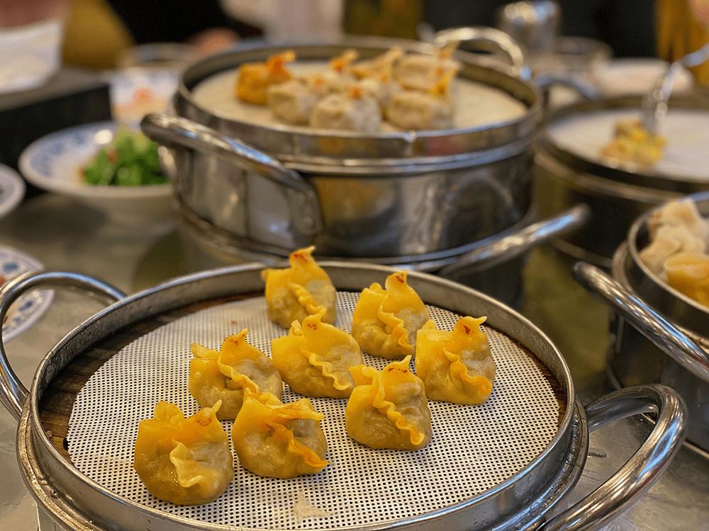 Chicken dumplings in Xi'an