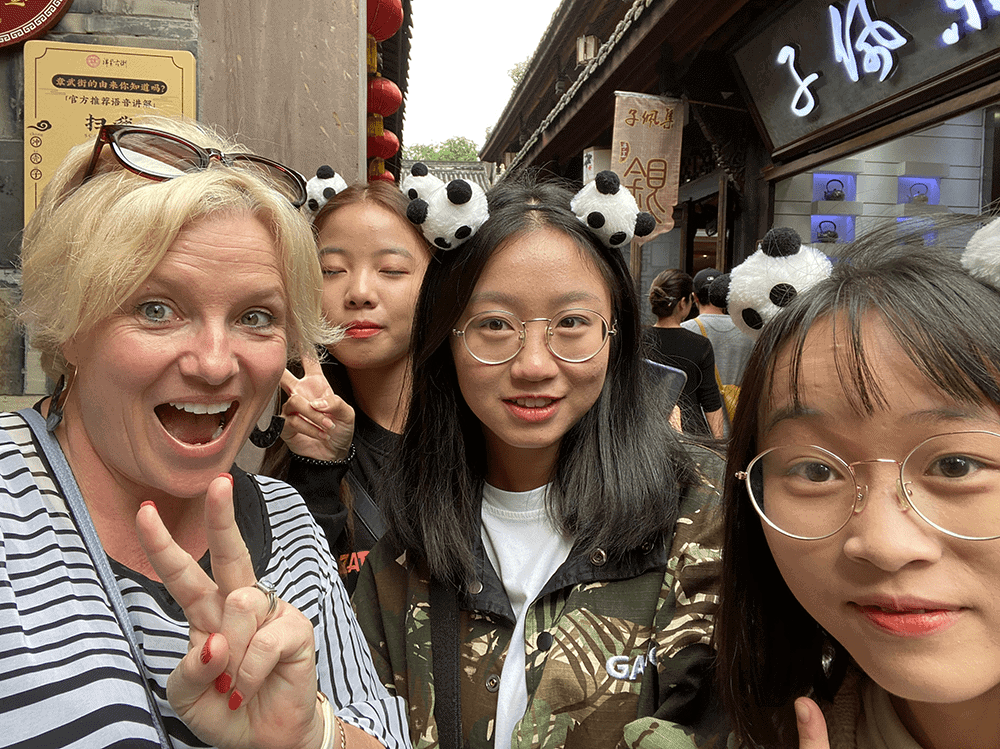 Selfies in China