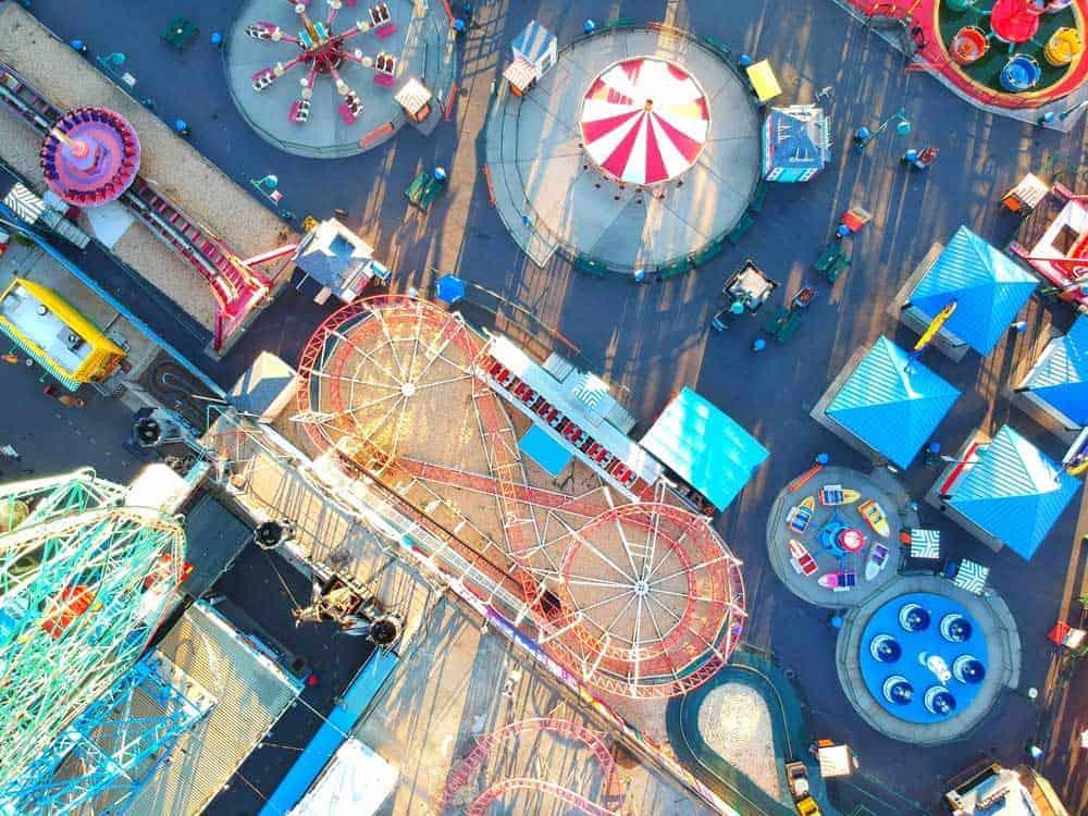 Coney Island amusement park New York