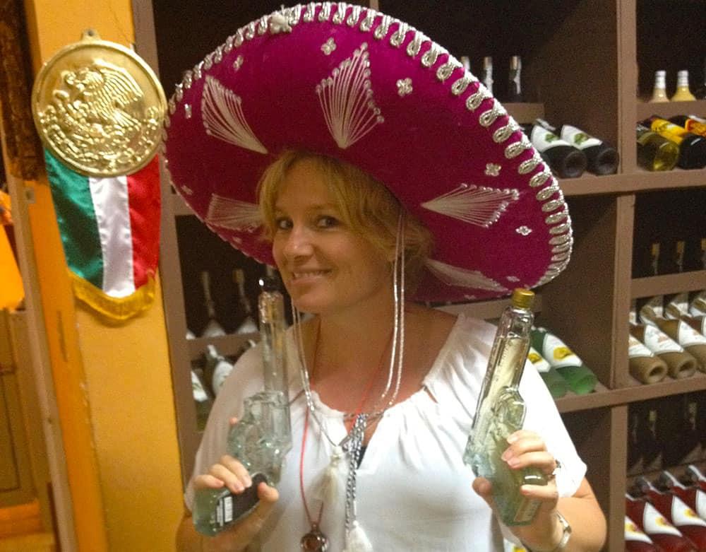 Megan in Mexico