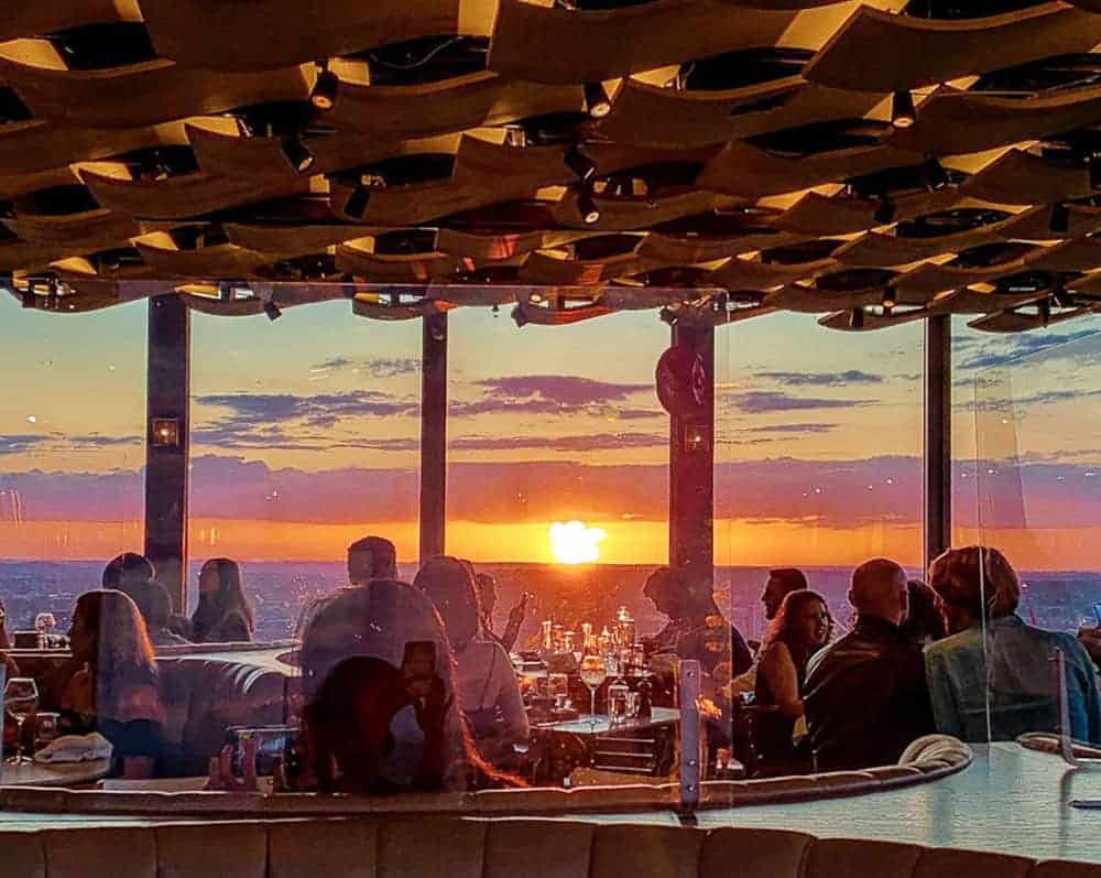 Duck & Waffle roof top