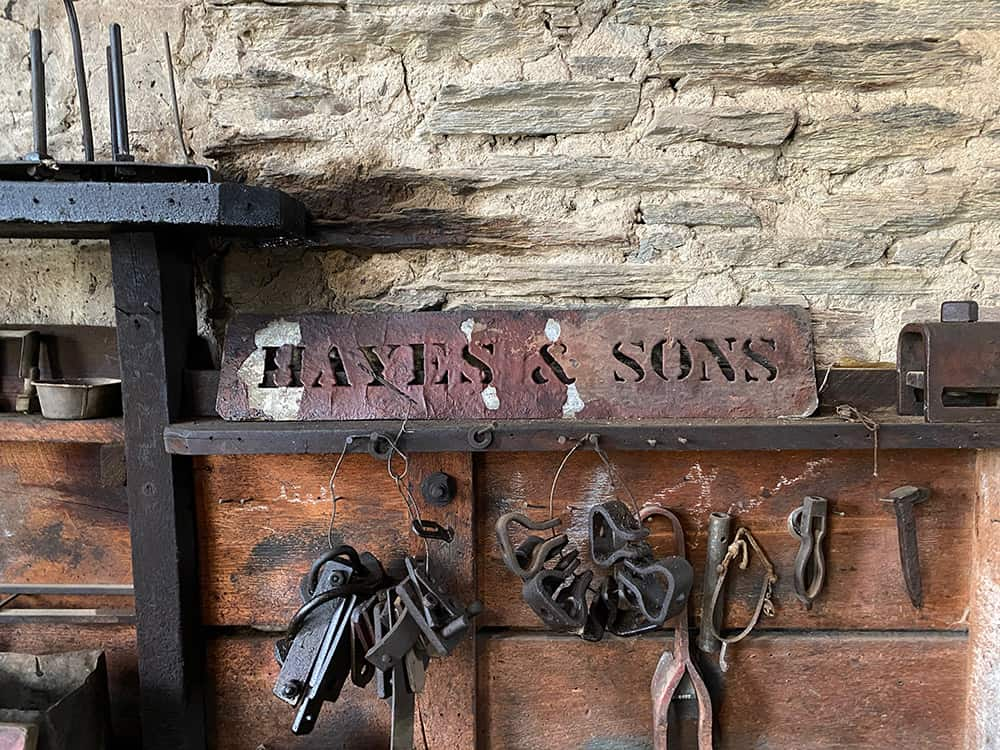 Hayes and Sons workshop