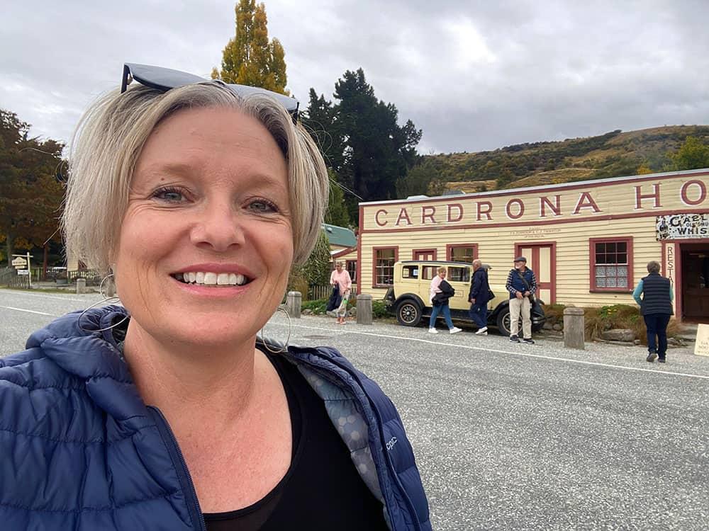 Megan at Cardrona hotel