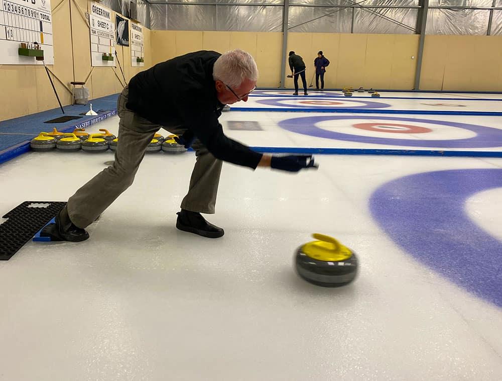 Steve's curling technique