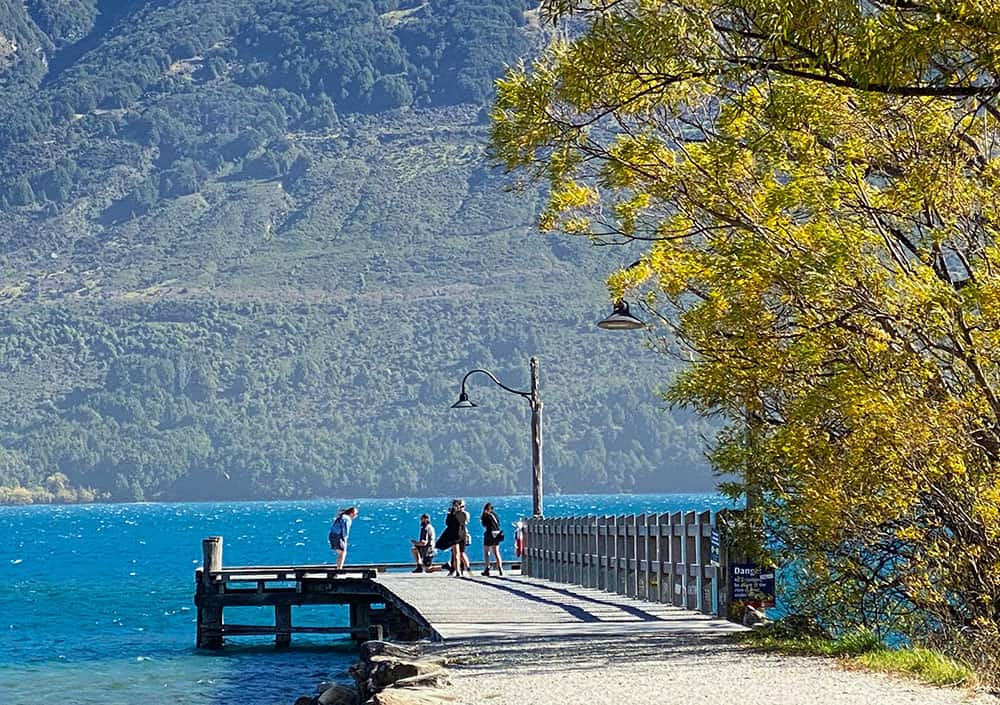 Marriage proposal in Glenorchy