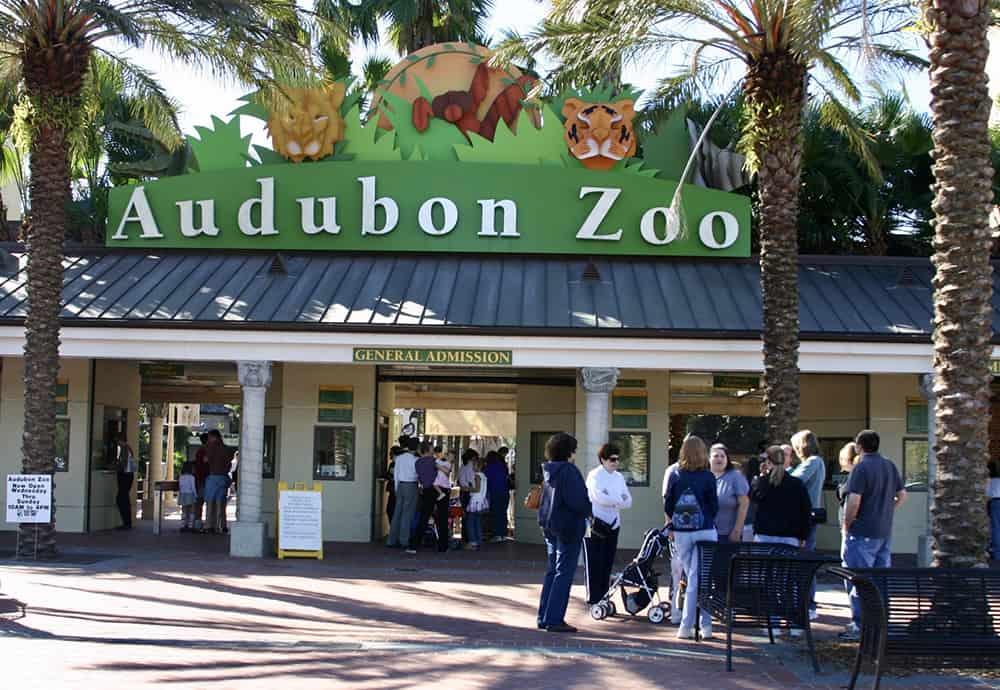 Audobon Zoo entrance