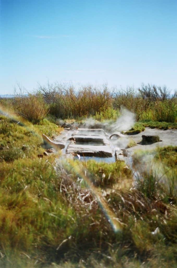 Baker hot springs