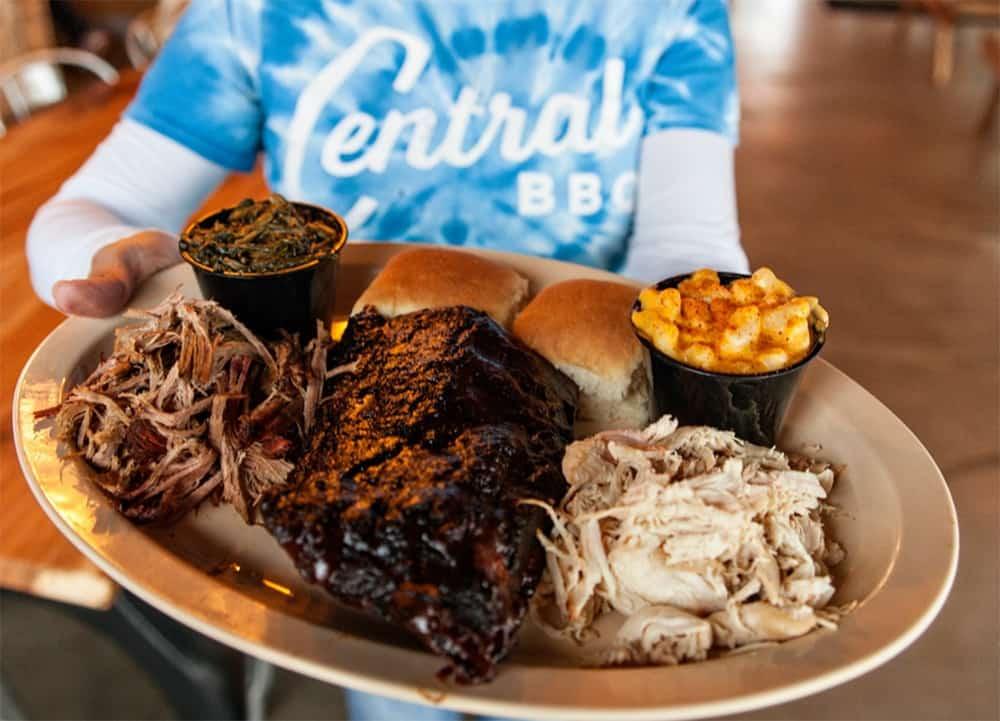 Central BBQ meat Memphis